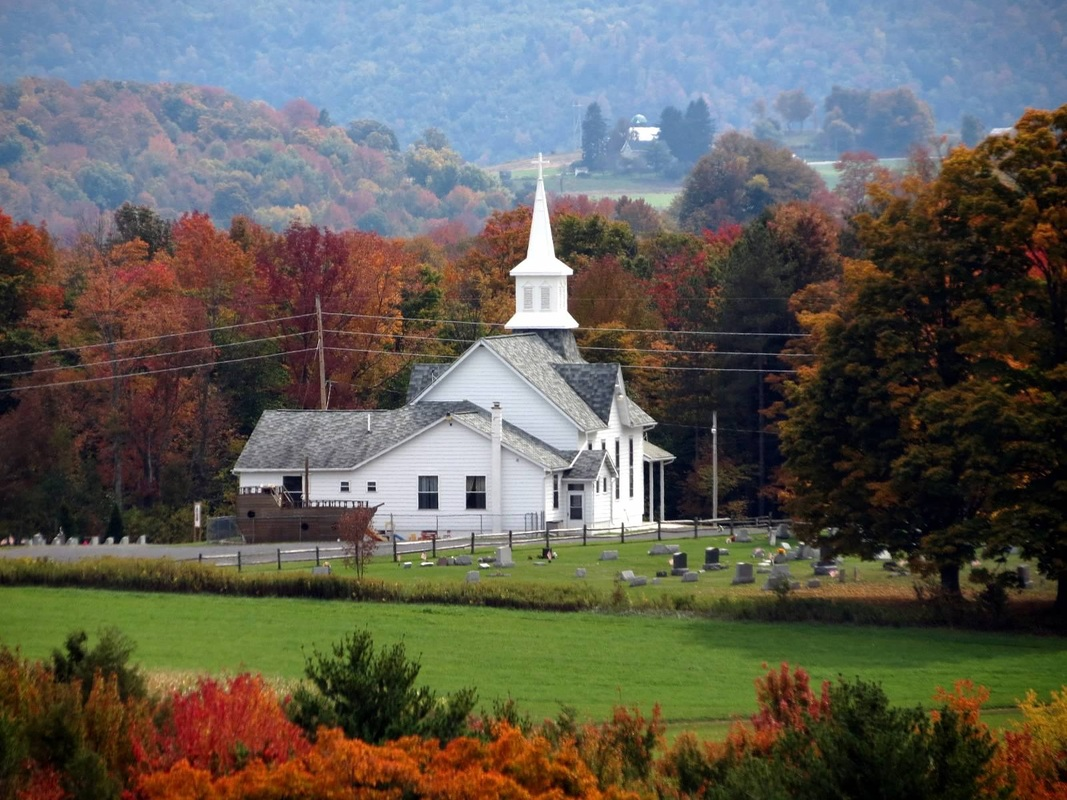Country Churches, Bradford, Lycoming, Tioga, Sullivan Counties in PA